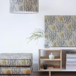 Angie Lewin Birchtree Sun fabric