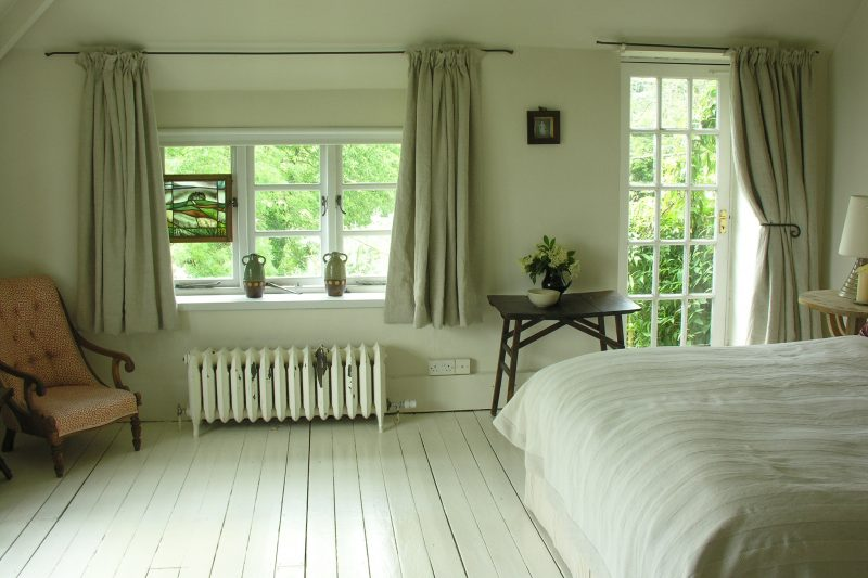 Linen Lavenham Natural Curtains Tinsmiths