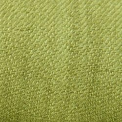 Hand dyed Linen Twill Green