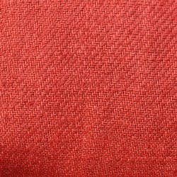 Hand dyed Linen Twill Red