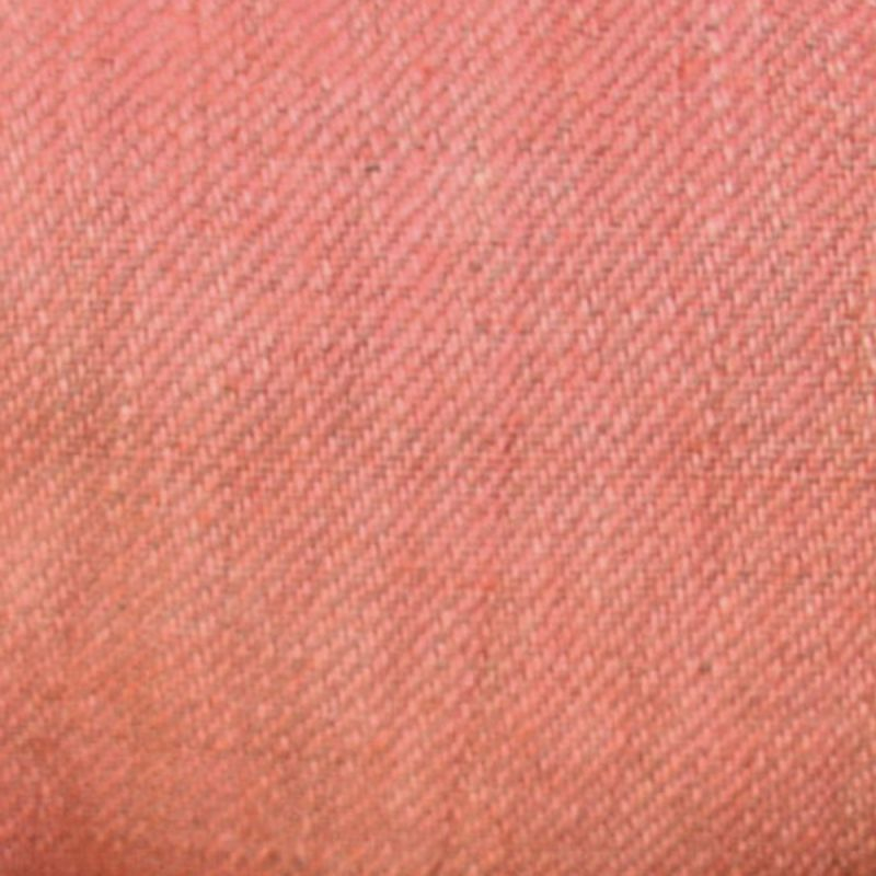 Hand Dyed Linen Twill Rose Pink