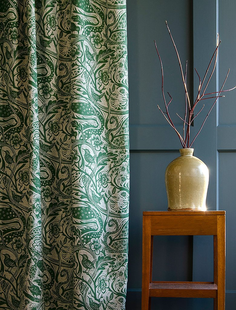 Mark Hearld Wren Fabric