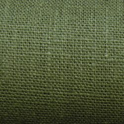 Textured Linen Bottle Green