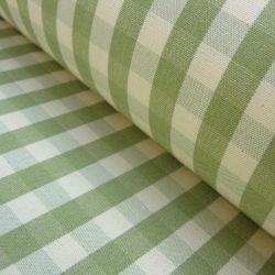 check sage natural fabric checked tinsmiths