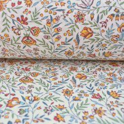 cotton print frejus white
