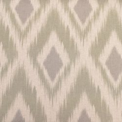 Extra Wide Ikat Sage Fabric