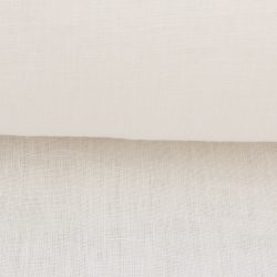 Extra Wide Ivory Linen Sheer