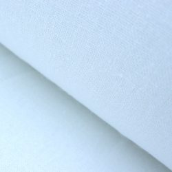 Extra Wide 100% Linen - White