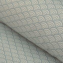 fans oilcloth grey