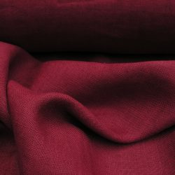 Washed Linen Turkey Red