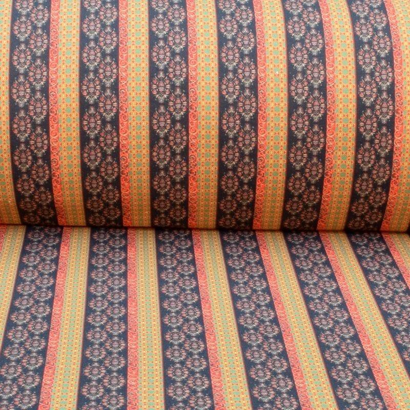 Dress Fabric - Gemstone Stripe