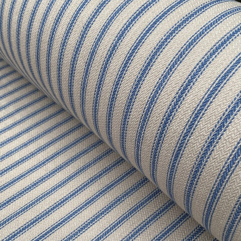 Hampton Ticking Royal Blue