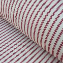 Hampton Ticking Stripe Ruby