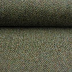 Wool Herringbone Moss