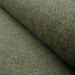 Wool Herringbone Moss