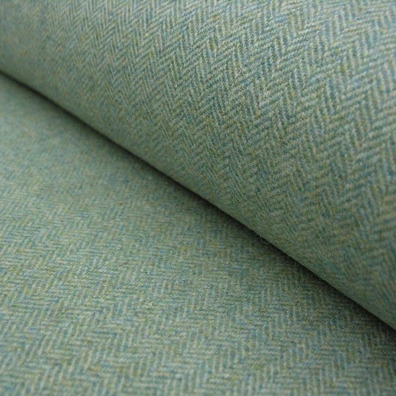 Wool Herringbone Seagreen