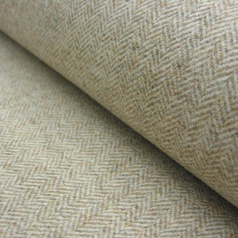 Wool Herringbone Oatmeal