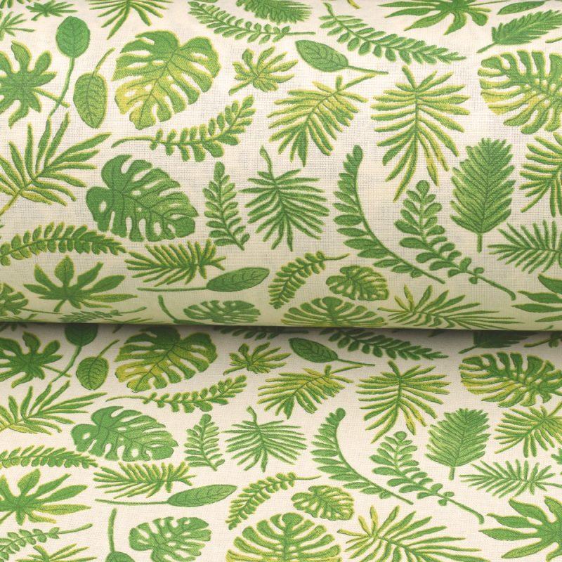 oilcloth japonica vert