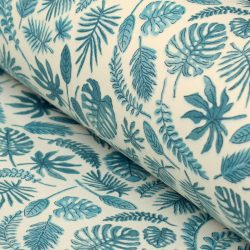 oilcloth japonica bleu