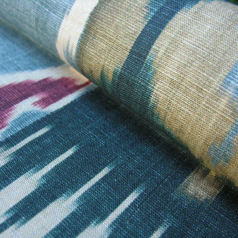 Lewis & Wood Kimono Cayenne Blue