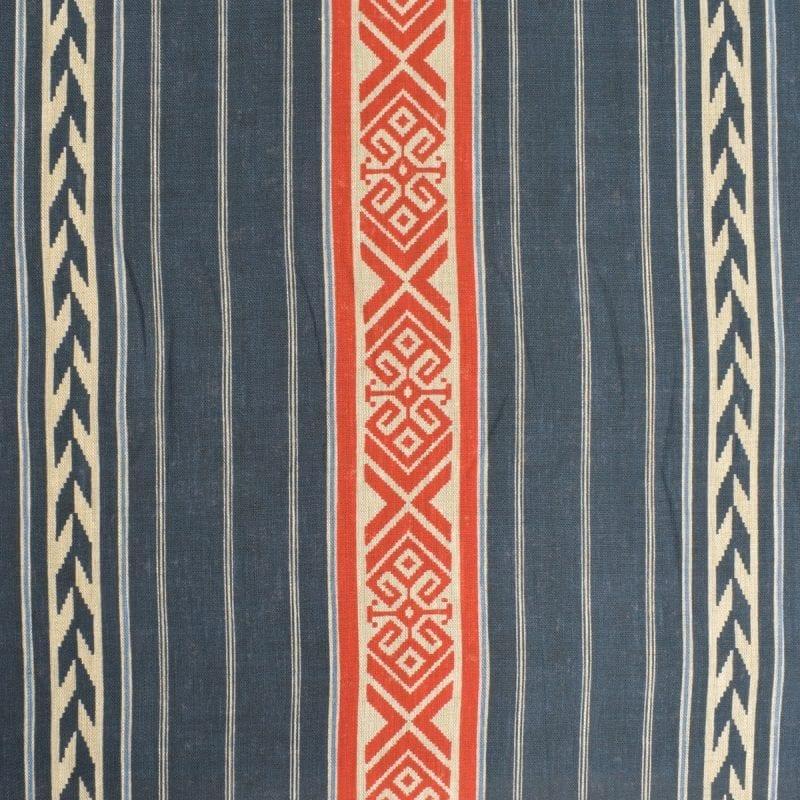 Kolomyya Linen Stripe - Indigo