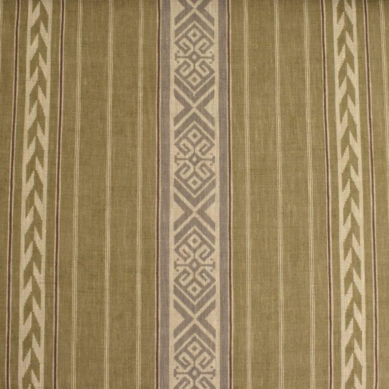 Kolomyya Linen Stripe - Sage