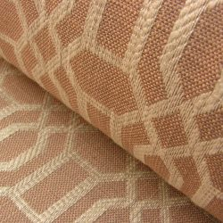 Lattice Upholstery Fabric Roan/Ivory