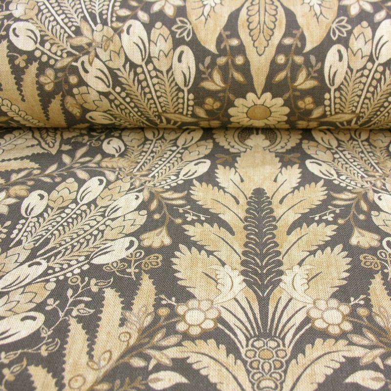 Lewis and Wood Printed Linen Hawksmoor Inca