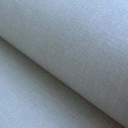 Extra Wide Dove Grey Linen Oilcloth 175cm wide