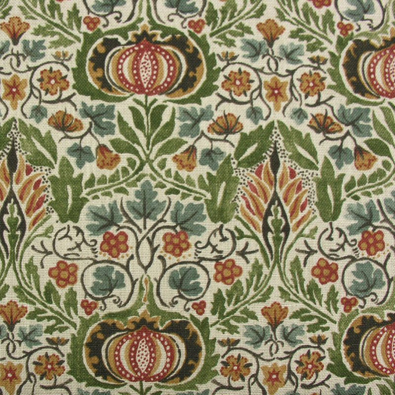 William Morris Little Chintz Olive and Ochre