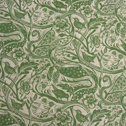 Mark Hearld - Linen Union Fabric, Wren; Forest
