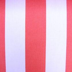 Cotton Stripe Riviera Coral