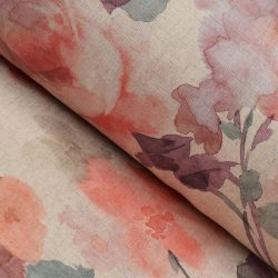 Extra Wide Floral Fabric - Rosa Pinks