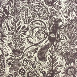 Mark Hearld Squirrel and Sunflower Aubergine