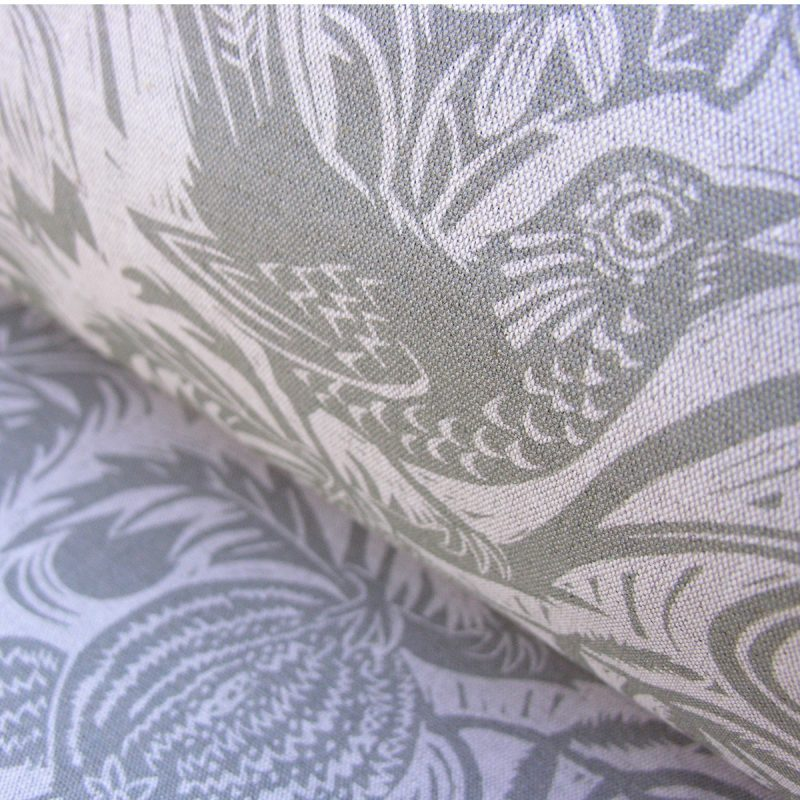 Mark Hearld Squirrel and Sunflower French Grey