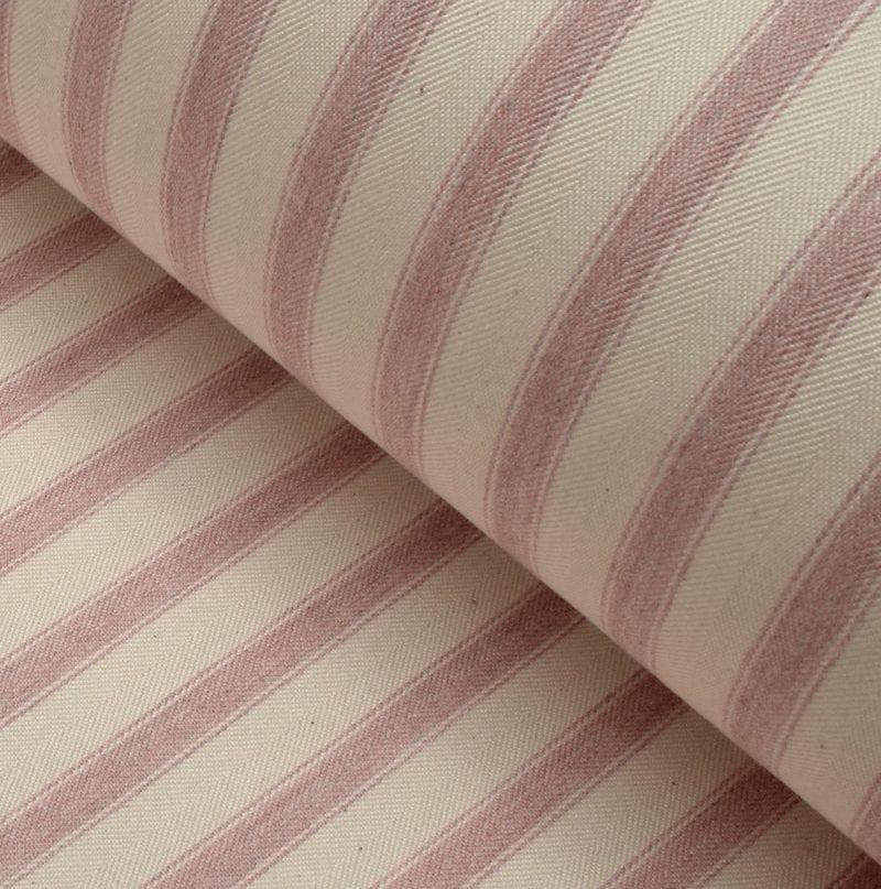 Ticking Fabric Large Pink