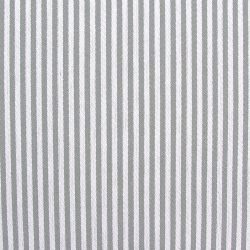 Cotton Ticking Wide - Cribbage Grey