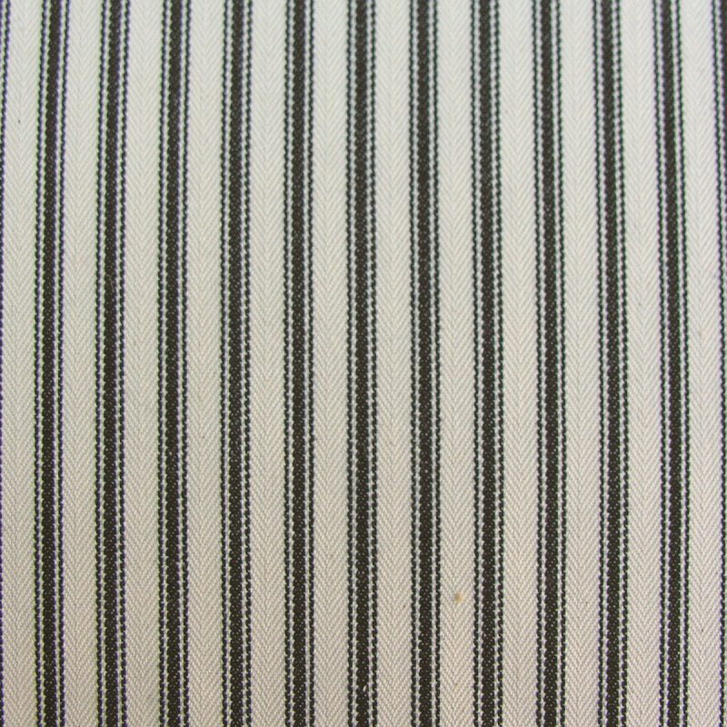 Ticking fabric black