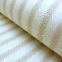 Ticking Fabric Large Cream
