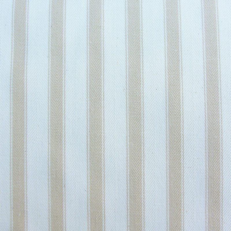 Ticking Fabric Large Cream