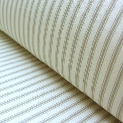Ticking Fabric Flax
