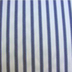 Ticking Fabric Large Navy Blue