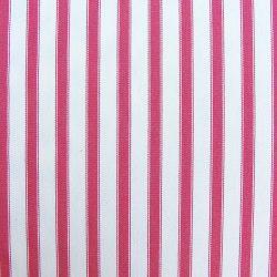 Ticking Fabric Large Peony