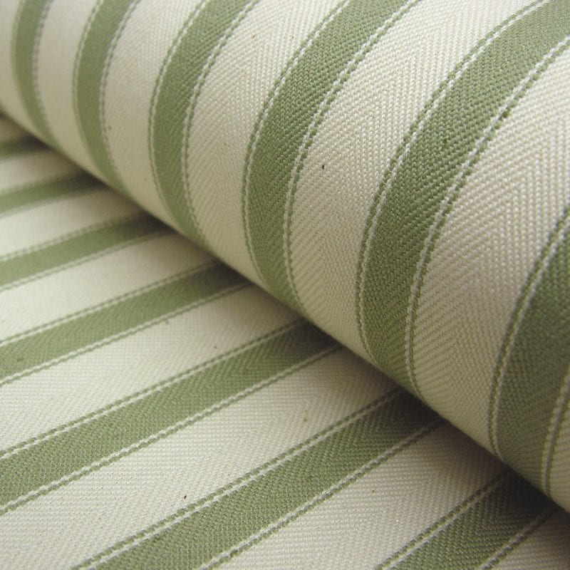 Ticking Fabric Large Sage