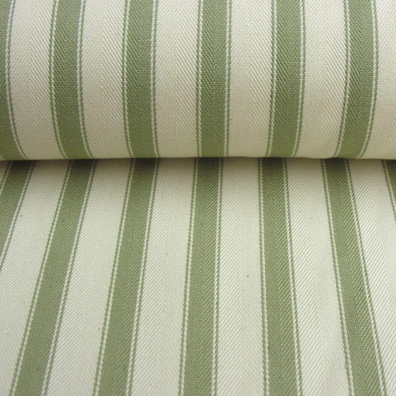 Ticking Fabric Large Sage