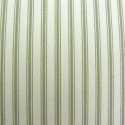 Ticking Fabric Sage