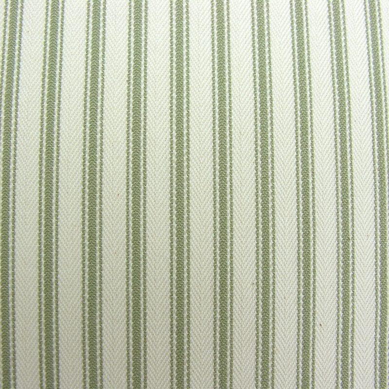 Ticking Fabric Sage