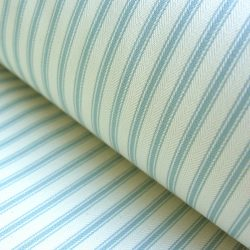Ticking Fabric Seagreen