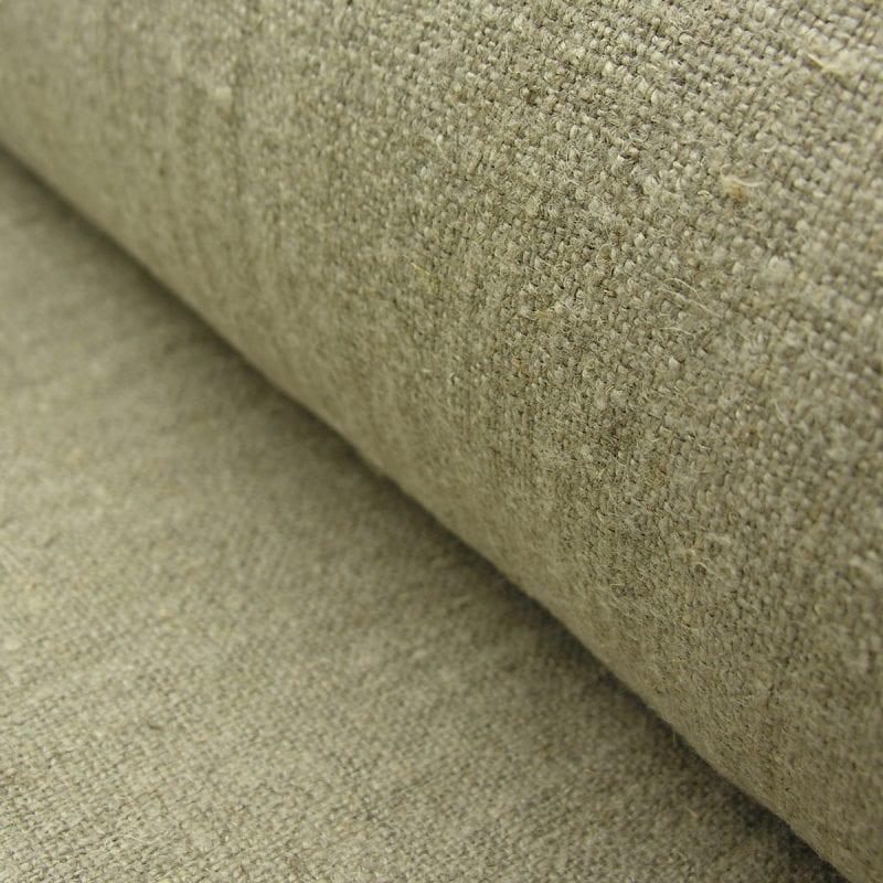 Stonewashed Wholemeal Linen Natural