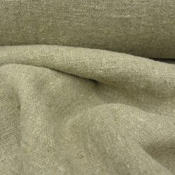 Stonewashed Wholemeal Linen Natural